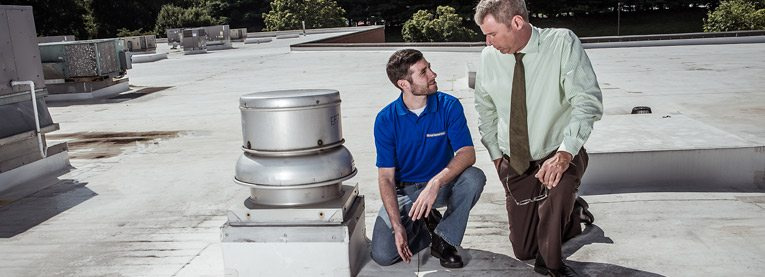 Industrial Roof Leak Repair