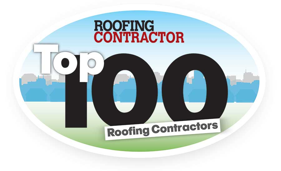 Top 100 Roofing Contractors for 2017