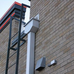 Flat Roofs Scupper and Gutter