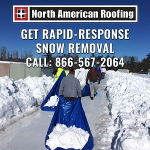 Commercial Snow Removal - Rooftop Snow Removal Contractor